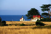seashore stock photography | California, Mendocino County, Lighthouse Inn at Point Cabrillo, image id 6-480-37