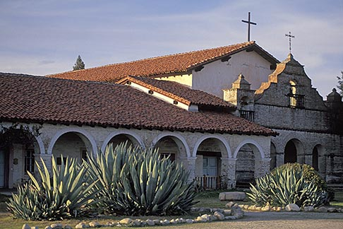 image 7-160-13 California, Missions, Mission San Antonio
