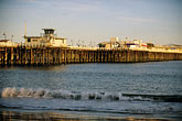 wave stock photography | California, Santa Cruz, Santa Cruz Wharf, image id 7-601-38