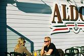 eat stock photography | California, Santa Cruz, Aldo