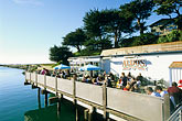 outdoor cafe stock photography | California, Santa Cruz, Aldo