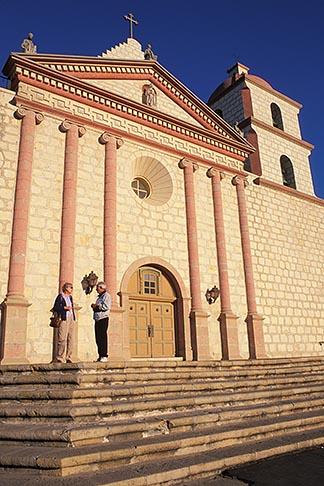 image 9-575-58 California, Missions, Mission Santa Barbara