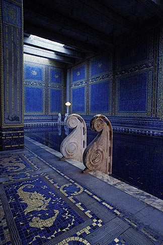 image 9-602-62 California, Hearst Castle, Roman Pool