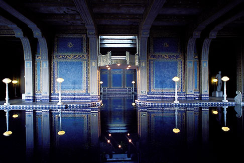 image 9-602-63 California, Hearst Castle, Roman Pool