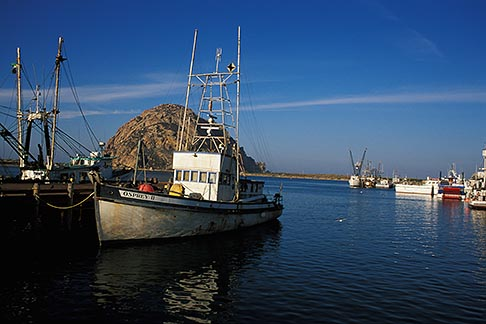 image 9-609-19 California, San Luis Obispo County, Fishing boats, Morro Bay