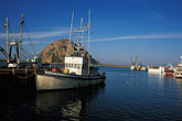 rock stock photography | California, San Luis Obispo County, Fishing boats, Morro Bay, image id 9-609-19