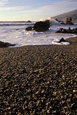 beach pebbles stock photography | California, Big Sur, Pacific Coast, Kirk Creek, Lucia, image id 9-609-53