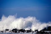 rock stock photography | California, San Luis Obispo County, Heavy surf, Morro Bay, image id 9-609-8