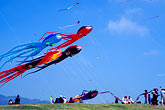 blue sky stock photography | California, Berkeley, Kite Festival, image id S1-15-2