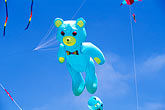 blue sky stock photography | California, Berkeley, Kite Festival, image id S1-15-6