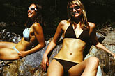 take it easy stock photography | California, Big Sur, Bikinis, image id S4-220-1