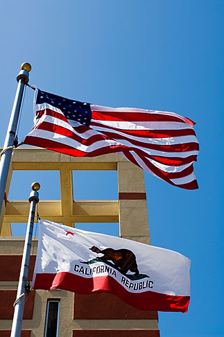 image S5-145-72 Flags, US and California Flags
