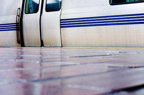 image S5-80-4645 California, San Francisco Bay, BART