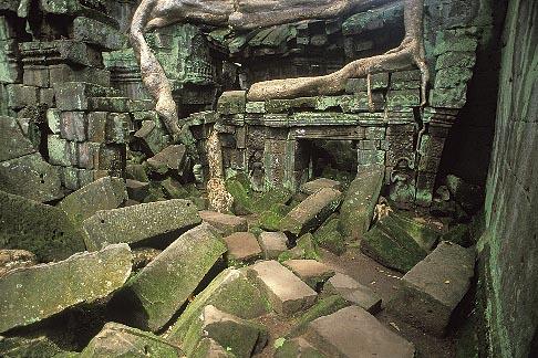image 0-401-26 Cambodia, Angkor Wat, Ta Prohm