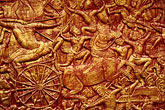 macro stock photography | Cambodia, Phnom Penh, Royal palace, relief detail, image id S3-205-1
