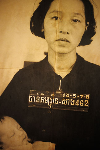 image S3-205-14 Cambodia, Phnom Penh, Tuol Sleng Genocide Museum