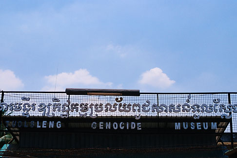image S3-205-16 Cambodia, Phnom Penh, Tuol Sleng Genocide Museum