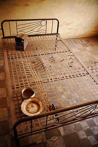 image S3-205-18 Cambodia, Phnom Penh, Tuol Sleng Genocide Museum