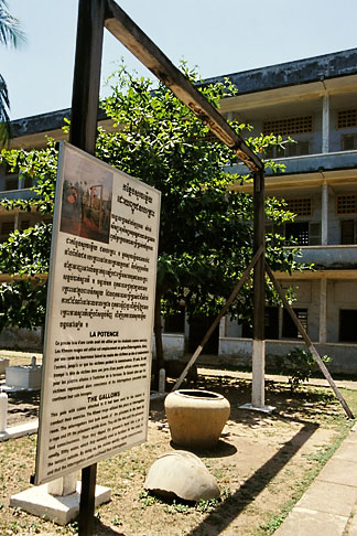 image S3-205-19 Cambodia, Phnom Penh, Tuol Sleng Genocide Museum