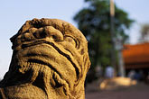 horizontal stock photography | Cambodia, Phnom Penh, Royal palace, statue, image id S3-205-3