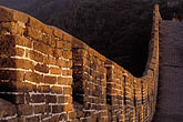 stone wall stock photography | China, Beijing, The Great Wall at Mutianyu, image id 4-344-74