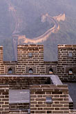fortress stock photography | China, Beijing, The Great Wall at Mutianyu, image id 4-344-80