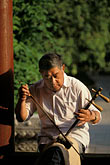 erhu stock photography | China, Beijing, Making music, Beihai Park, image id 4-348-7
