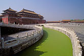green water stock photography | China, Beijing, Golden Stream, Imperial Palace, image id 4-352-6