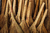 straw stock photography | China, Lanzhou, Straw brooms , image id 4-375-18
