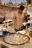 image 4-418-19 China, Kashgar, Soup restaurant, Sunday market