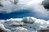 blue sky stock photography | Clouds, New Mexico, image id S4-350-1701