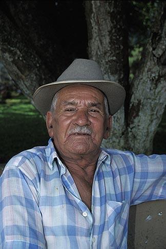 image 8-458-27 Costa Rica, Old man, San Ramon