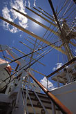 vertical stock photography | Cruises, Clipper Ships, Royal Clipper, rigging, image id 3-600-30