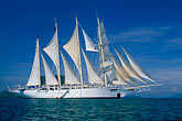 blue sky stock photography | Thailand, Phang Nga Bay, Star Flyer clipper ship, image id 7-501-5