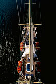 vessel stock photography | Cruises, Clipper Ships, View from atop the mast, Star Flyer, image id 7-545-16