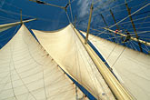 ocean stock photography | Cruises, Clipper Ships, Mast and sails, Star Flyer, image id 7-547-24