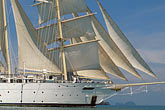 sail stock photography | Thailand, Phang Na Bay, Star Flyer clipper ship, image id 7-549-1