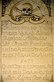 calligraphy stock photography | Cura�ao, Willemstad, Jewish Synagogue, gravestone, image id 3-431-18