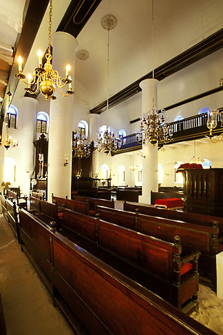 image 3-431-27 Curacao, Willemstad, Mikweh Israel Synagogue, built 1692