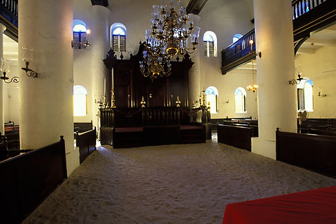 image 3-431-29 Curacao, Willemstad, Mikweh Israel Synagogue, built 1692