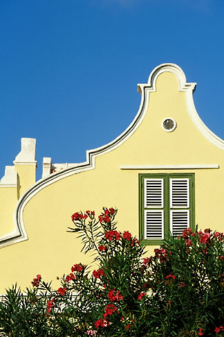 image 3-431-36 Curacao, Willemstad, Dutch architecture