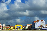 downtown skyscraper stock photography | Cura�ao, Willemstad, Otrobanda waterfront, image id 3-431-5