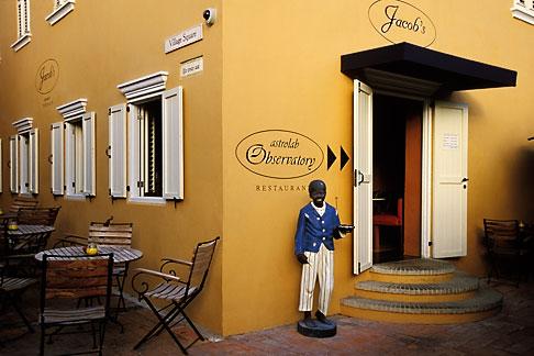 image 3-431-65 Curacao, Willemstad, Kura Hulanda, Astrolab Observatory restaurant
