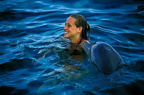 image 3-432-16 Curacao, Willemstad, Dolphin Academy, Curacao Sea Aquarium