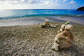piled stock photography | Cura�ao, Little Knip Beach, image id 3-432-43
