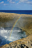 rainbow stock photography | Cura�ao, Watamula natural bridge, Noordpunt (North Point), image id 3-432-58