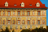 building stock photography | Czech Republic, Cesky Krumlov, Cesky Krumlov castle, image id 4-960-1009