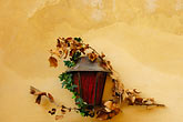 autumn stock photography | Czech Republic, Cesky Krumlov, Lamp and leaves, image id 4-960-1093