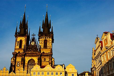 image 4-960-132 Czech Republic, Prague, Tyn Cathedral