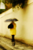 woman walking stock photography | Czech Republic, Prague, Walking in the rain, image id 4-960-1544